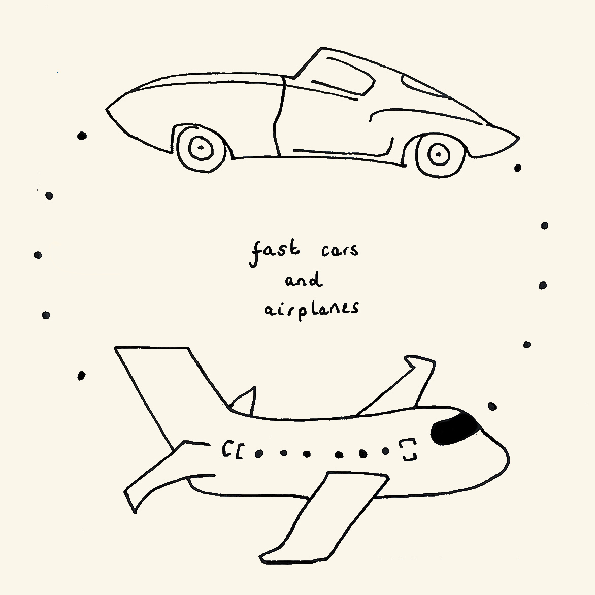 Ettie, Fast Cars and Airplanes